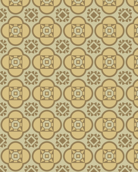 pattern-geometrycal_beige-01-01 fabric by katja_saburova on Spoonflower - custom fabric