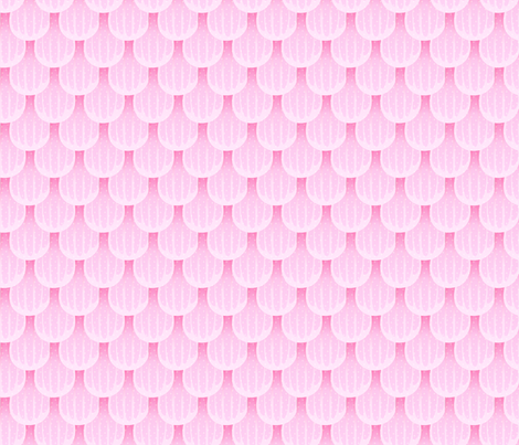 pink_scale_petals fabric by glimmericks on Spoonflower - custom fabric