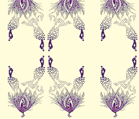 Dreams of a Peacock fabric by imhere on Spoonflower - custom fabric