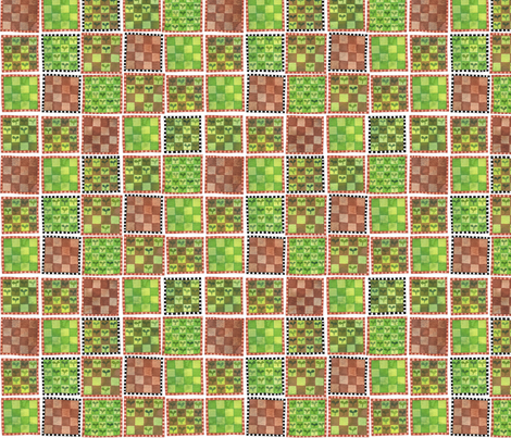 Cabbage Patches fabric by spellstone on Spoonflower - custom fabric