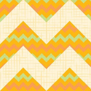 Yellow Seamless chevron pattern