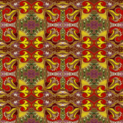 At The Duke and Duchess' Request fabric by edsel2084 on Spoonflower - custom fabric
