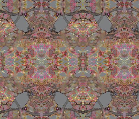 BlackBirdandthePinkBlossoms fabric by sharpestudiosdesigns on Spoonflower - custom fabric