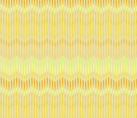 Granada_Chevron_yellow_ochre_yellow_field fabric by bee&lotus on Spoonflower - custom fabric