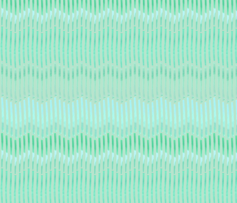 Granada_Chevron_aqua_aqua_field fabric by bee&lotus on Spoonflower - custom fabric