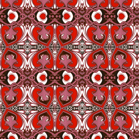 Send My Love to Tiffany fabric by edsel2084 on Spoonflower - custom fabric