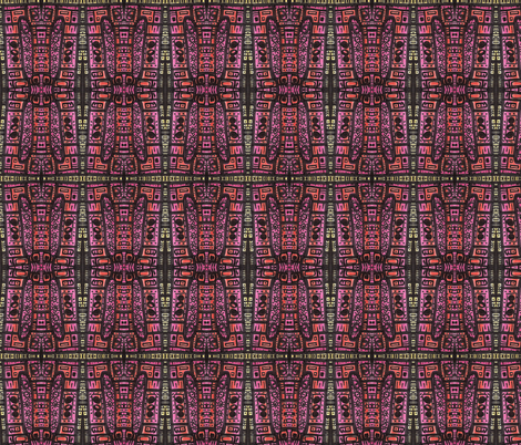 happy rhythm fabric by kcs on Spoonflower - custom fabric