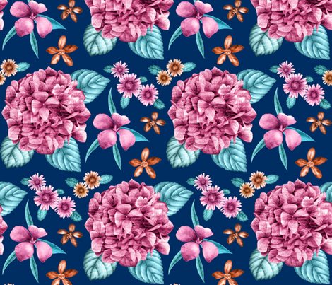 Mum_s_Island_Garden fabric by tinawilson on Spoonflower - custom fabric