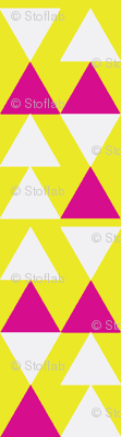 Pink Triangles on Yellow