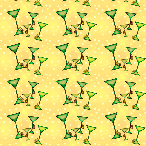 yellow cheers fabric by lissame73 on Spoonflower - custom fabric