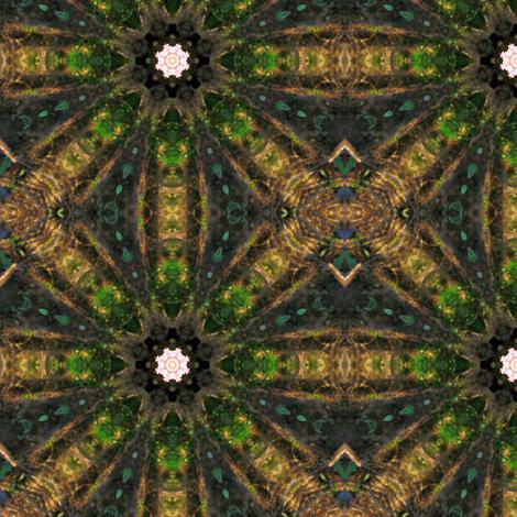 Garlic Star fabric by anniedeb on Spoonflower - custom fabric