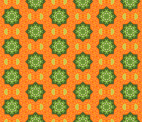 Carrots with Rosemary fabric by anniedeb on Spoonflower - custom fabric