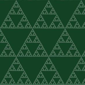 Sierpinski Triangle - chalkboard