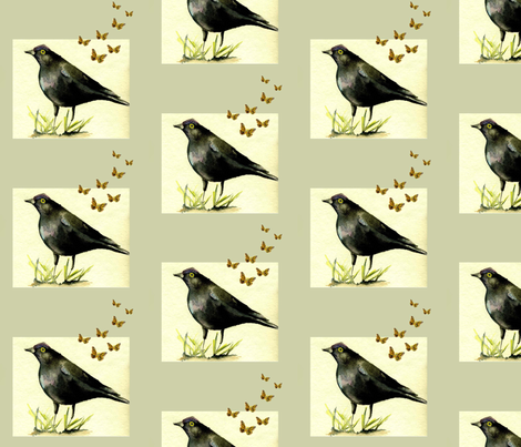 Fly fabric by itybitybags on Spoonflower - custom fabric