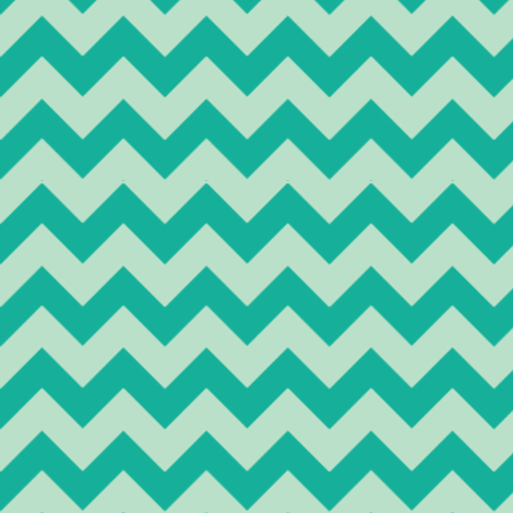 Ziggy Milo Mint fabric by natitys on Spoonflower - custom fabric