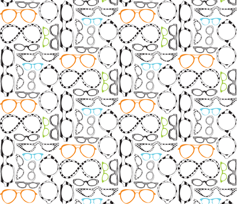 Cheaters in color. fabric by pi&e on Spoonflower - custom fabric