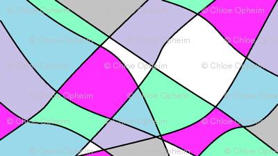 pastel kaleidoscope