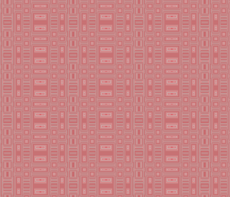 Apricot and Gray Rectangular Geometric © Gingezel™ 2012