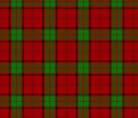 Doctor Who Jamie McCrimmon Tartan fabric by warmcanofcoke on Spoonflower - custom fabric