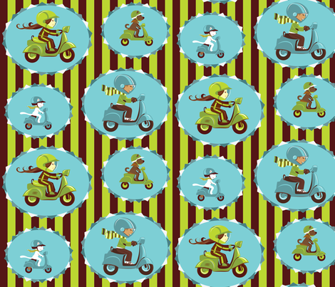 motorace-0-01 fabric by katja_saburova on Spoonflower - custom fabric
