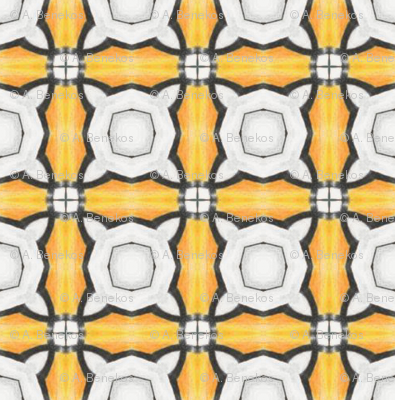 Joffiah's Tiles - Orange