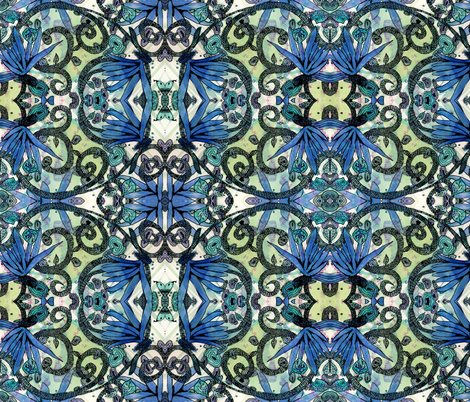 Creation fabric by viasummerlynn on Spoonflower - custom fabric