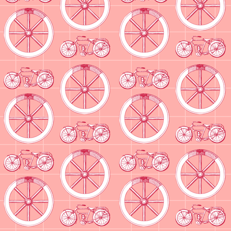 Wheels Ahoy fabric by brainsarepretty on Spoonflower - custom fabric
