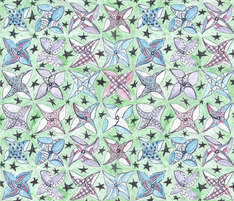 Pinwheels fabric by brandymiller on Spoonflower - custom fabric