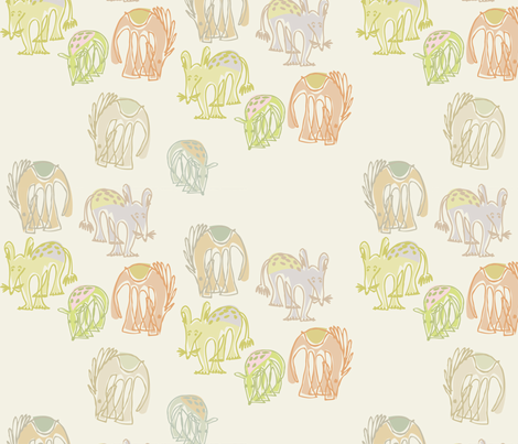 animae fabric by meredithjean on Spoonflower - custom fabric