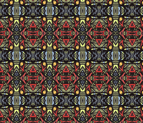 ya_ya fabric by kcs on Spoonflower - custom fabric