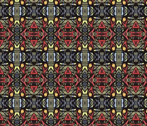 ya_ya fabric by kcs on Spoonflower - custom fabric