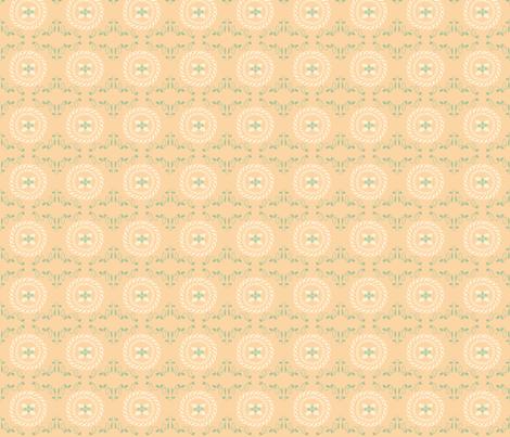 Paris 1922 Cross_stitch fabric by lana_gordon_rast_ on Spoonflower - custom fabric