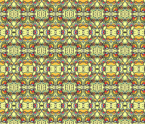 a_go_go_2 fabric by kcs on Spoonflower - custom fabric