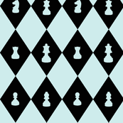 Chessboard Check in Mint