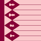 Chessboard Border in Raspberry