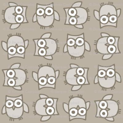 Easy Owl Doodle Mut