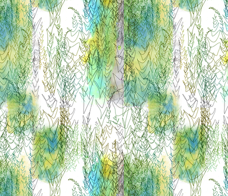 sketch fabric by feebeedee on Spoonflower - custom fabric