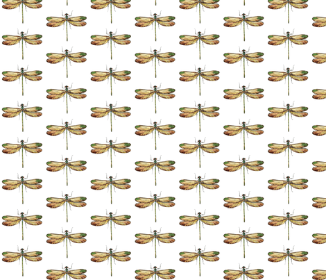 dragonfly_2 fabric by mysticalarts on Spoonflower - custom fabric