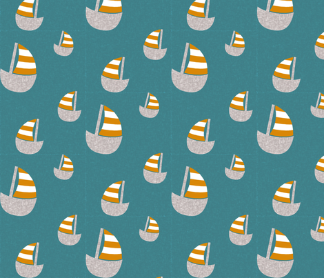 boatsdark fabric by natitys on Spoonflower - custom fabric