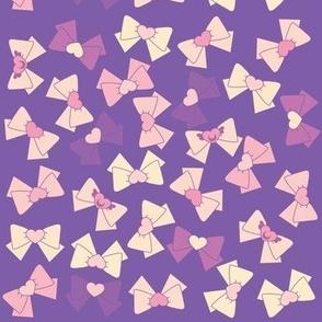 Sailor Moon Bows - purples