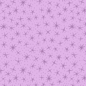 stellate whimsy in lilac