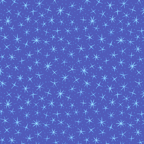 stellate whimsy - evening sky fabric by weavingmajor on Spoonflower - custom fabric