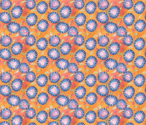 Fabulous Floral fabric by shannon-mccoy on Spoonflower - custom fabric