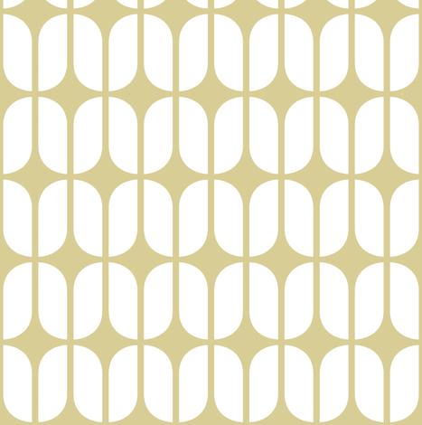 Modular Beige fabric by brainsarepretty on Spoonflower - custom fabric