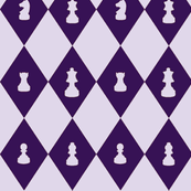 Chessboard Check in Grape