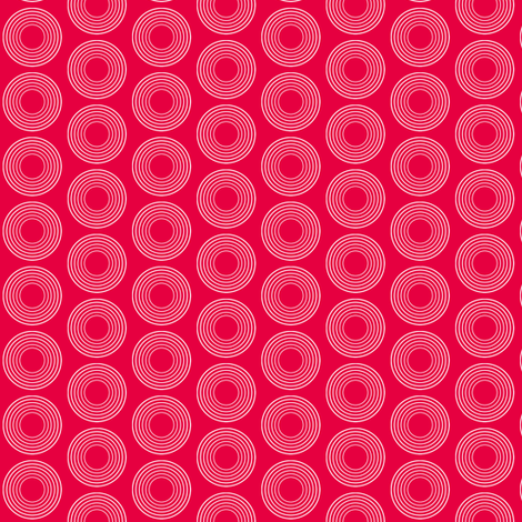 Modular Red Circles fabric by brainsarepretty on Spoonflower - custom fabric