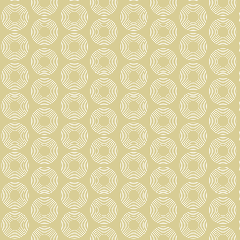 Modular Beige Circles fabric by brainsarepretty on Spoonflower - custom fabric