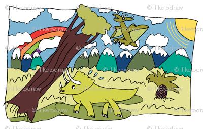 Dino Scene Lookout