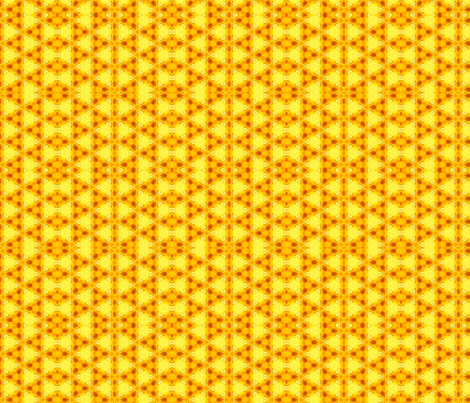 A Bee Triangle fabric by anniedeb on Spoonflower - custom fabric