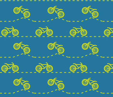 Dirt Bikes fabric by oakroot_design on Spoonflower - custom fabric